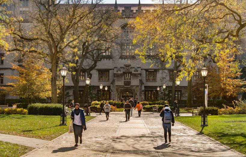Quad in fall